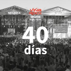 40 días Viña