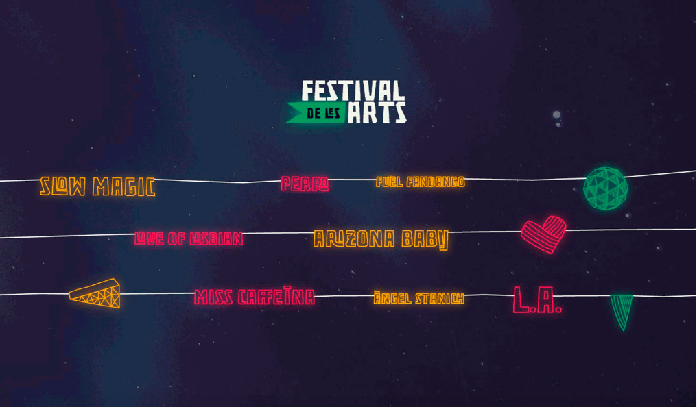 festival les arts